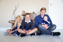 Familieshoot thuis